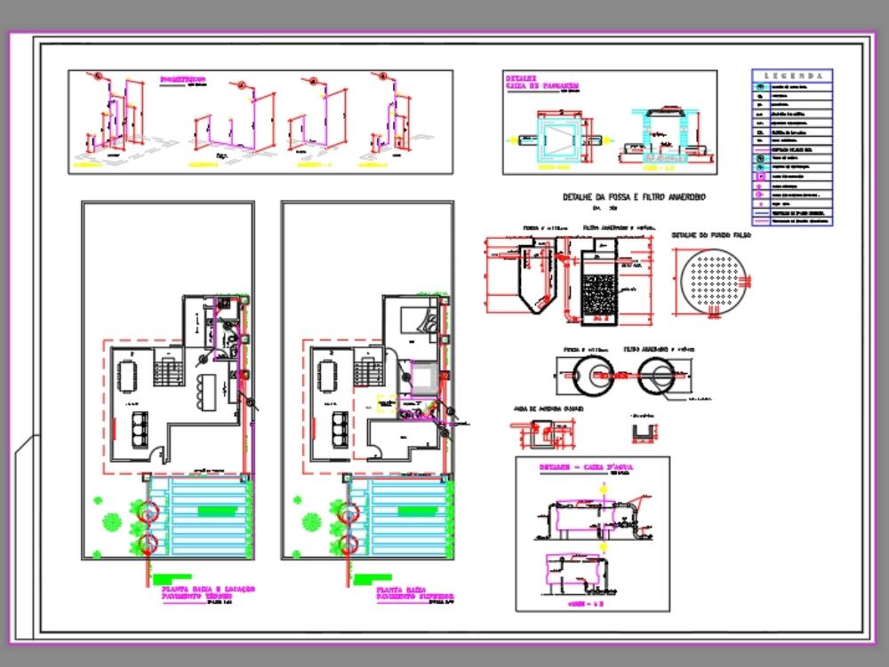 Proyecto sanitario de 173 m2