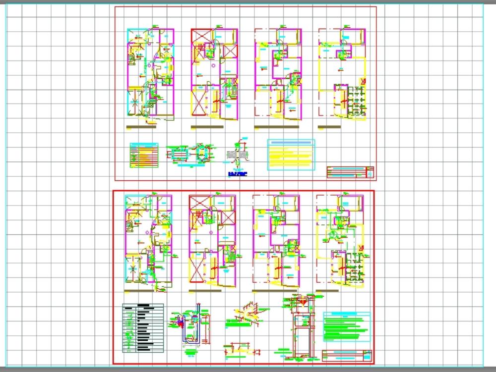 Instalación sanitaria vivienda multifamiliar