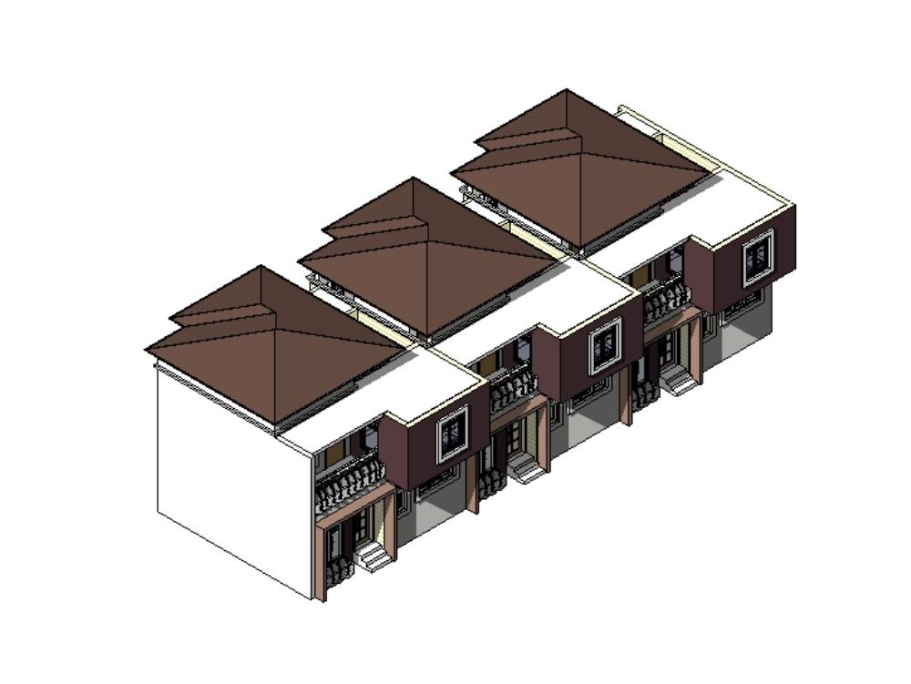 Brook estate block of flats (revit files)