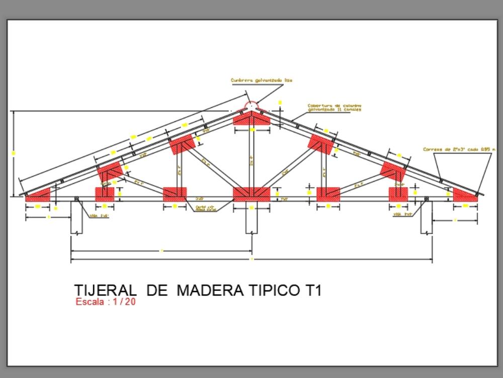 Cerchita wood plane details