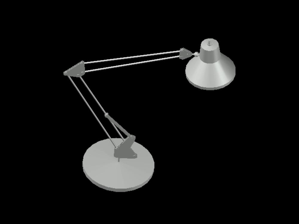 3d office lamp