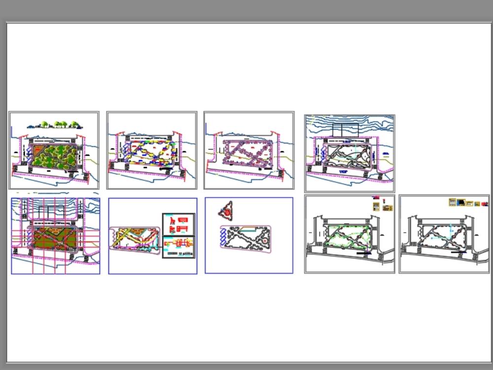 Complete park plans