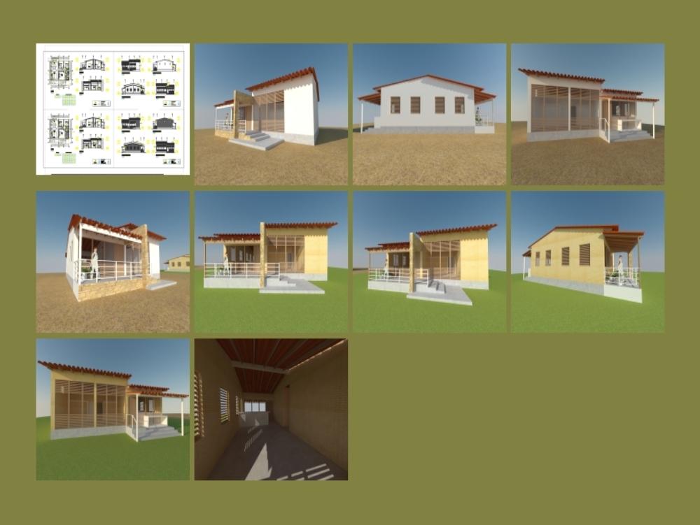 Modular house 100m2