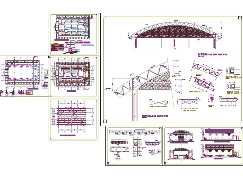 Municipal market project warehouse