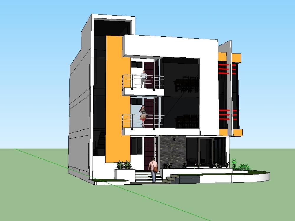 3-storey multifamily house