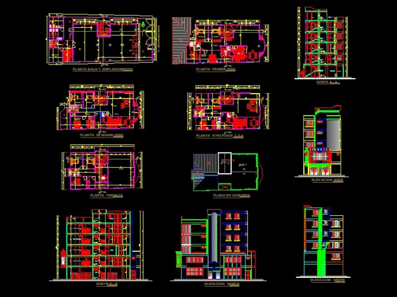 2d multi-family business house - five floors