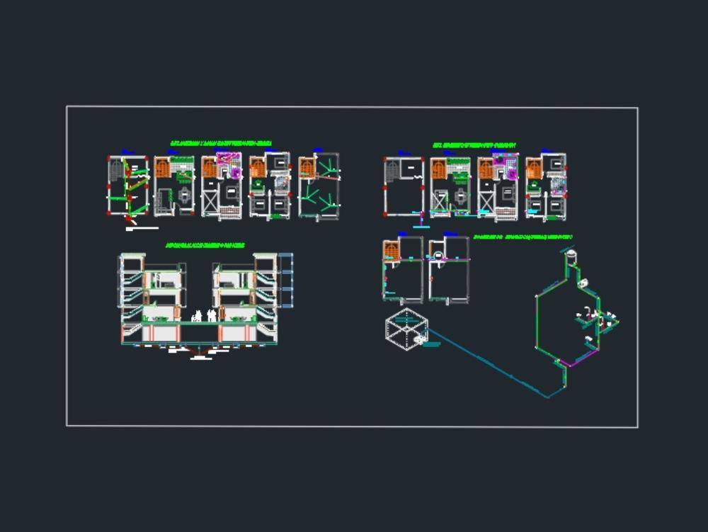 Instalaciones sanitarias e hidráulicas edificio