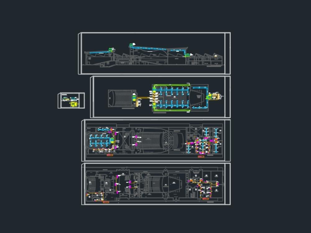 Diseño instalación aire acondicionado auditorio