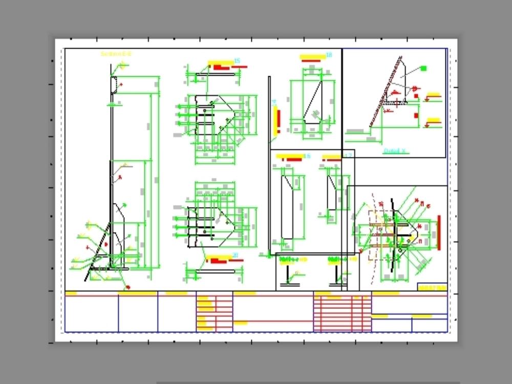 Stucco silo -