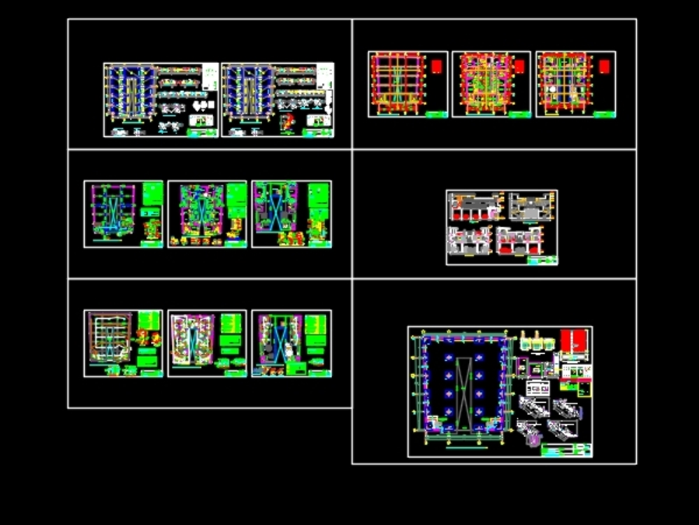 Complete multifamily house plans