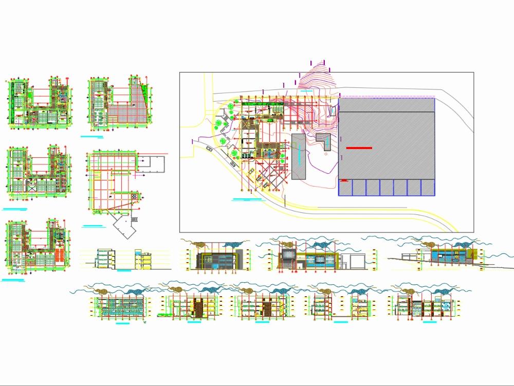 Edificio de escuela profesional de arquitectura y urbanismo