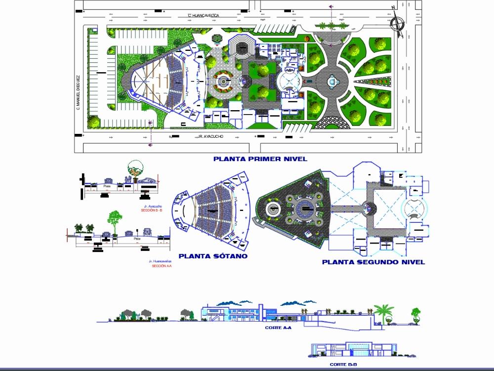 Diseño de un centro cultural