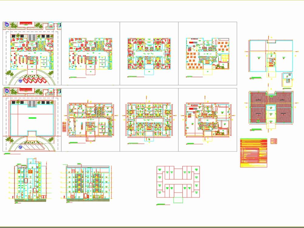 Projeto de hotel boutique 5 pavimentos