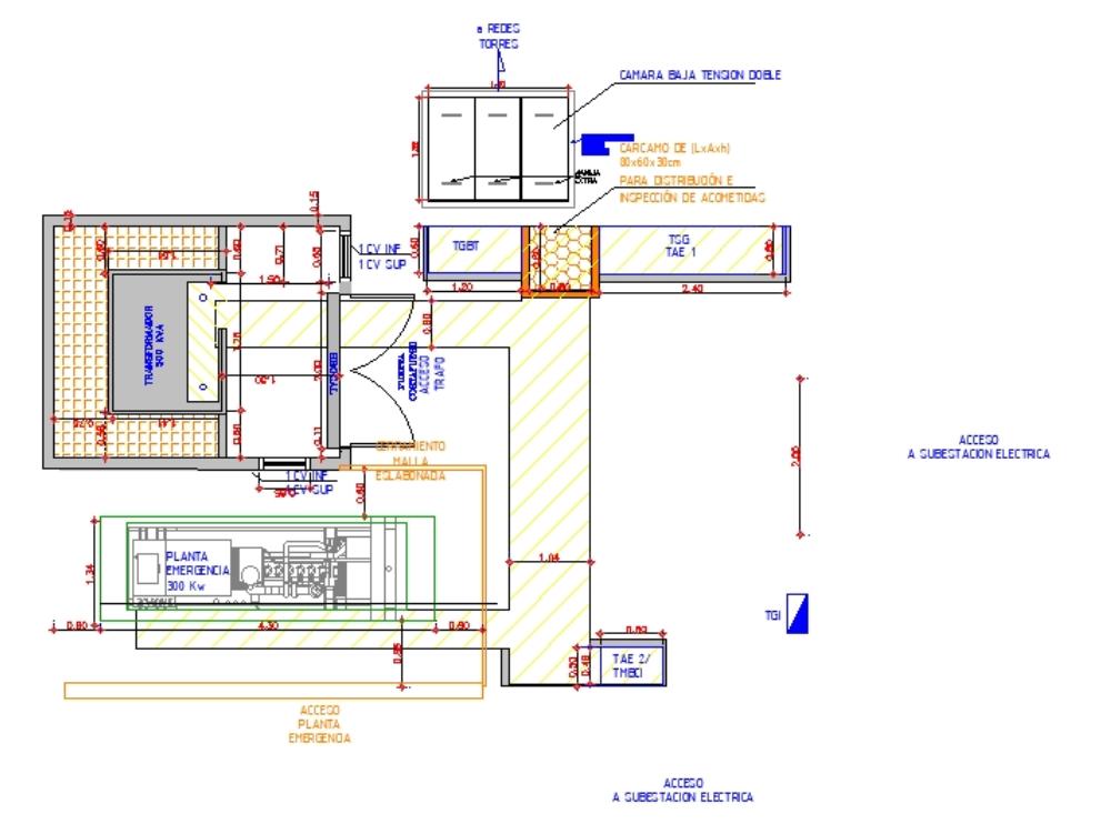 500 kva electrical substation plant