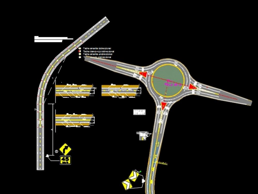 Señalización horizontal de carreteras