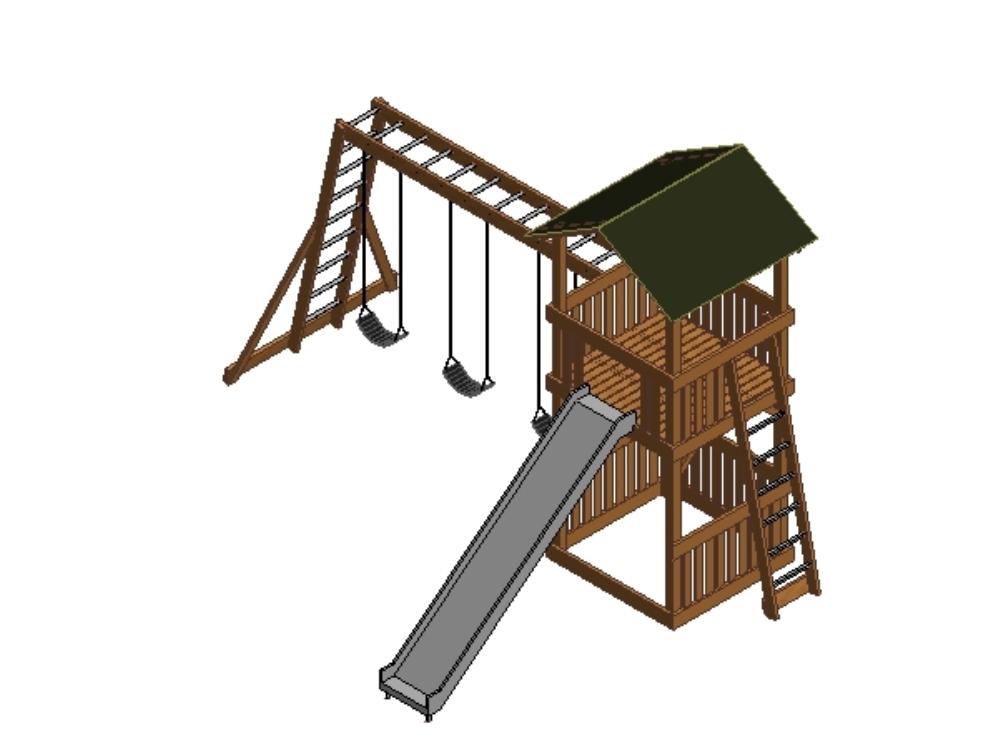 3d castle for kids for revit