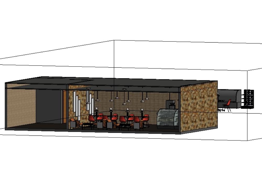 Single-storey rustic bakery
