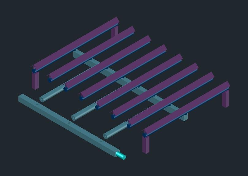Rejilla -  asador - con patitas  de acero