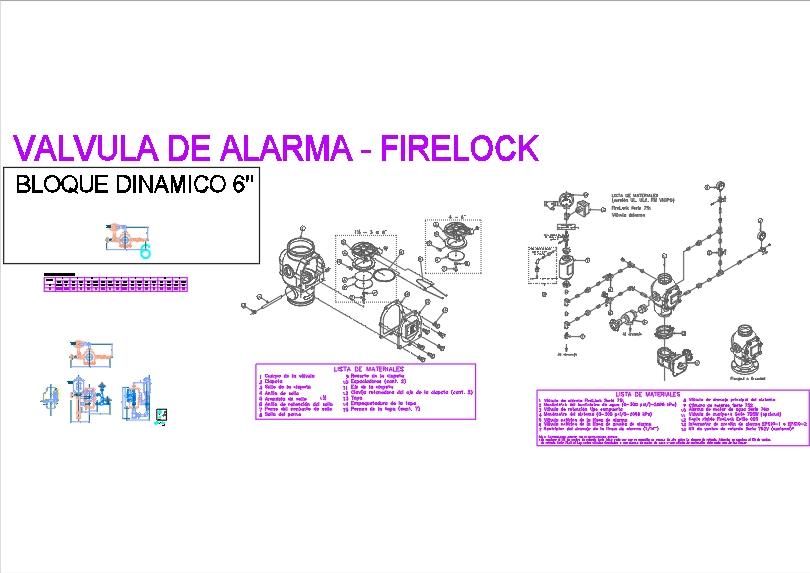 751 series alarm valve - dynamic dwg