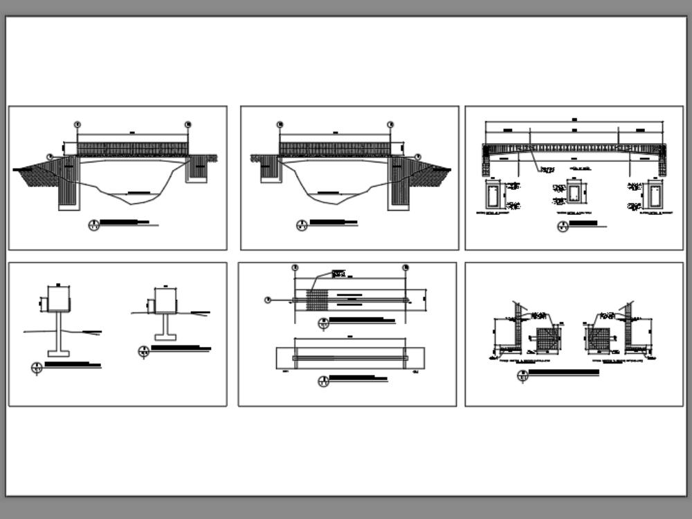 Diseño de puente peatonal longitud m metros