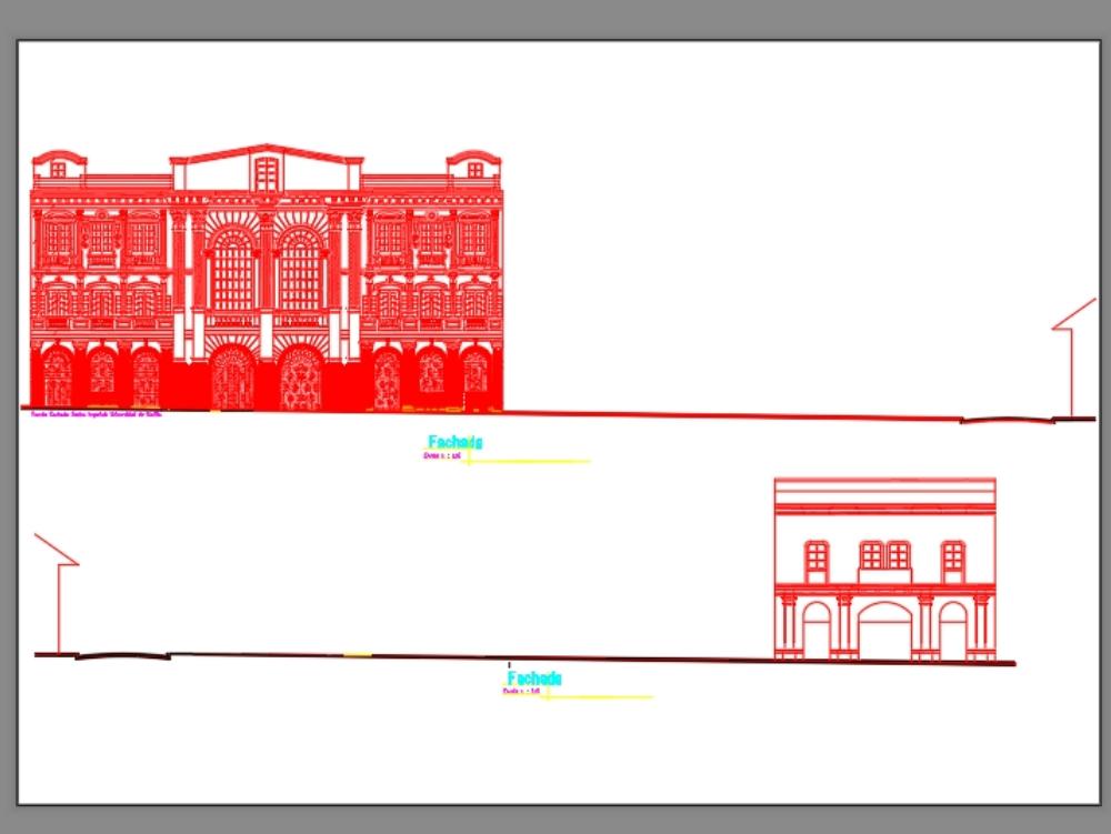 Republican building of lima-peru