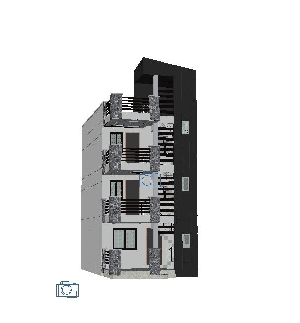 3d modeling - multifamily housing