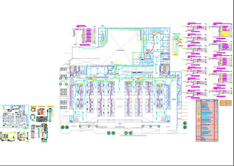 Instalaciones eléctricas de mercado san antonino