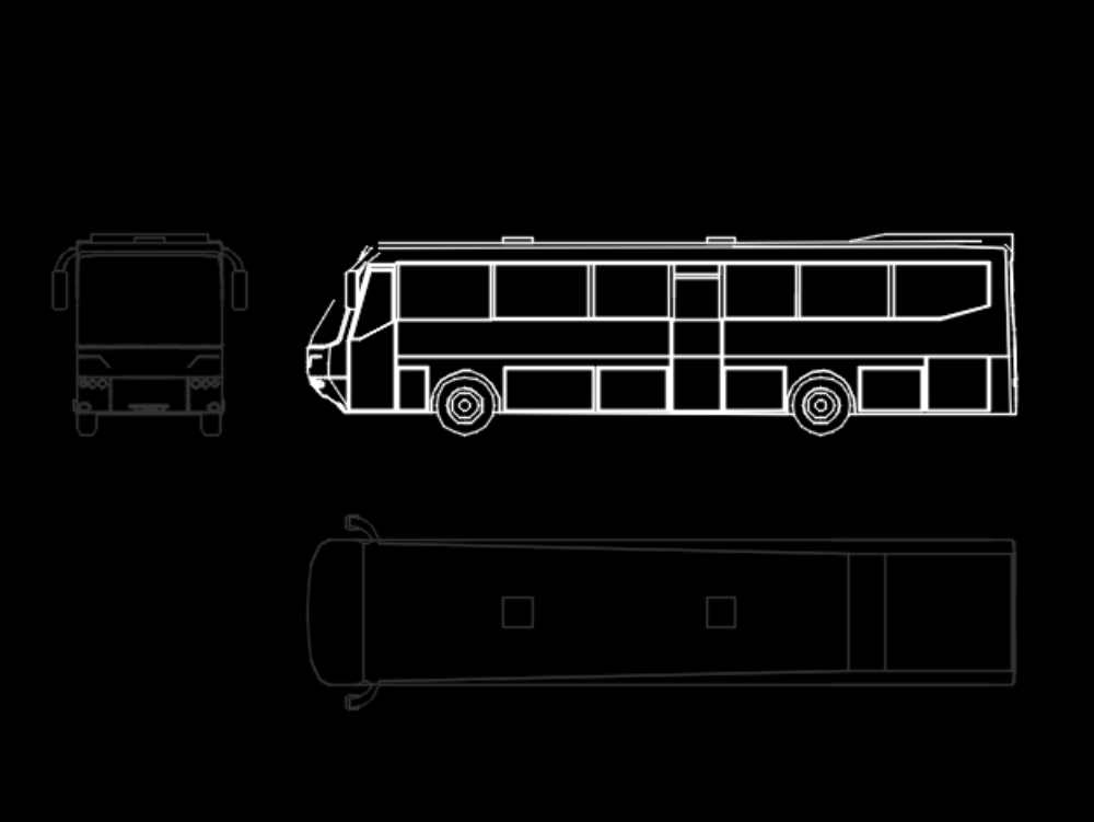 Cad bus for student work