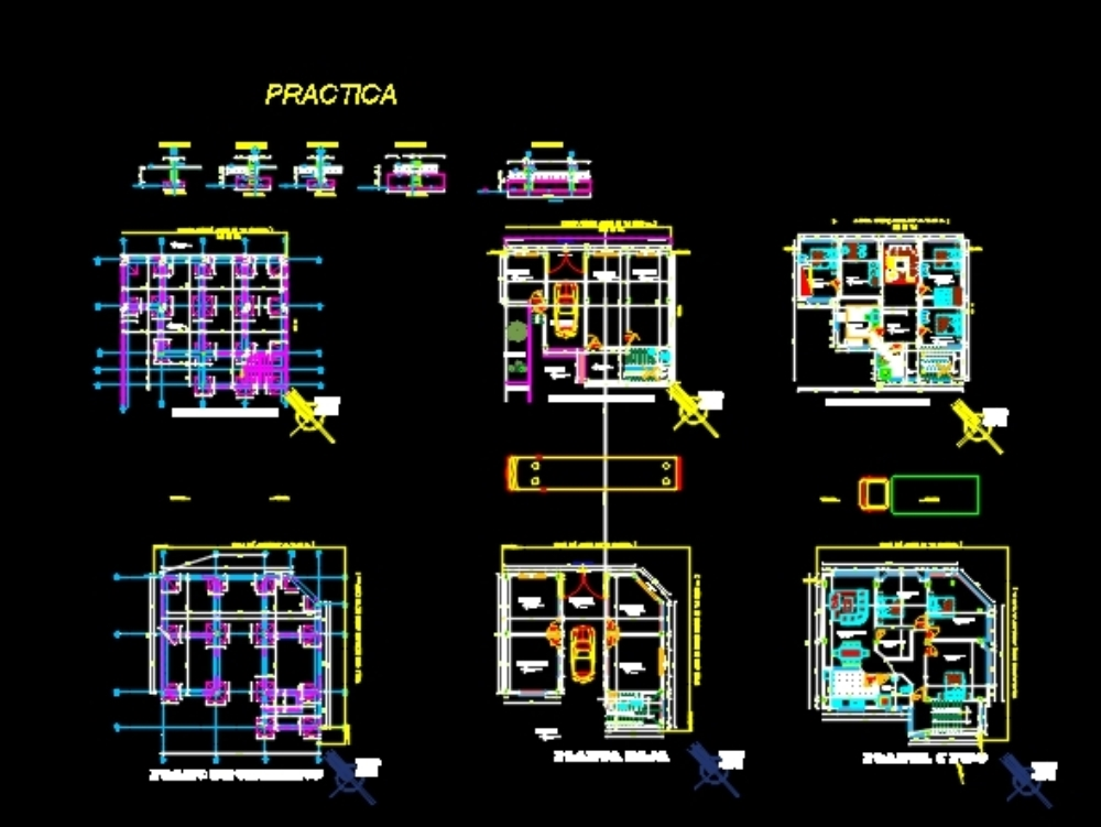 Multi Commercial Home Plan