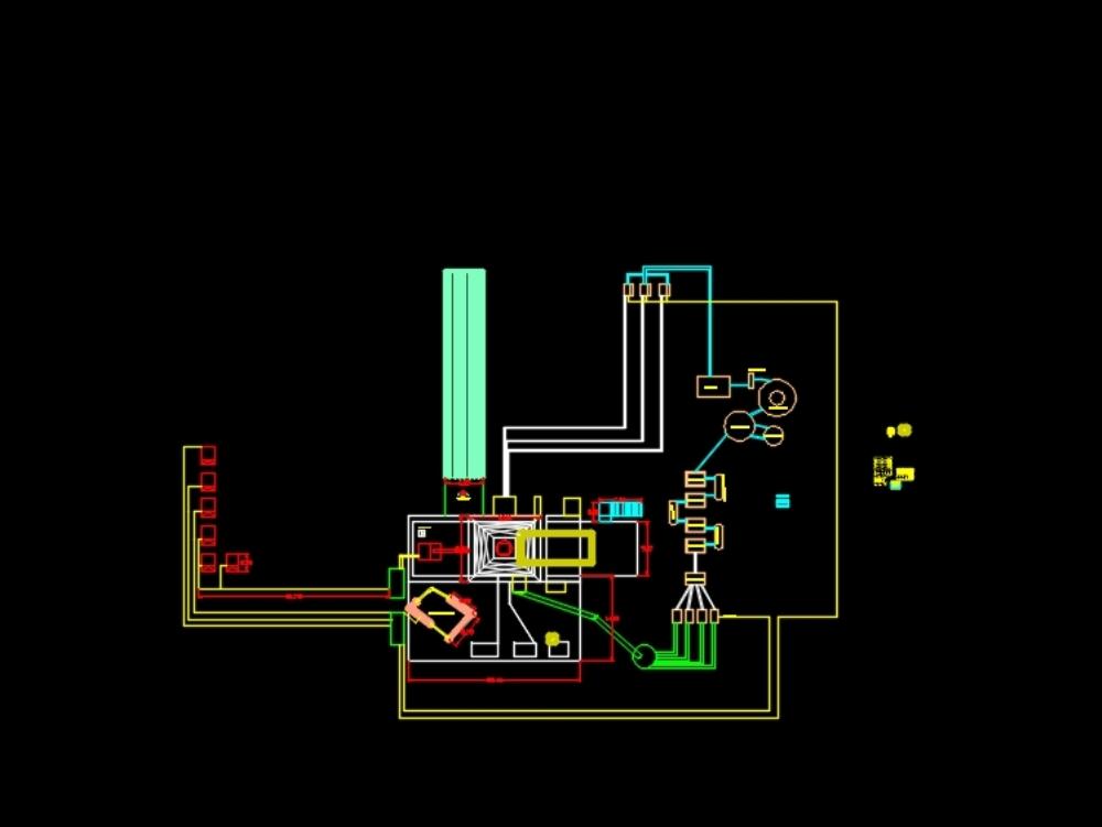 Prototype oil plant