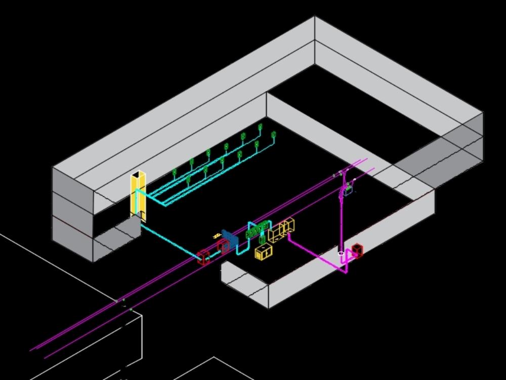 Isométrico (instalación electrica)