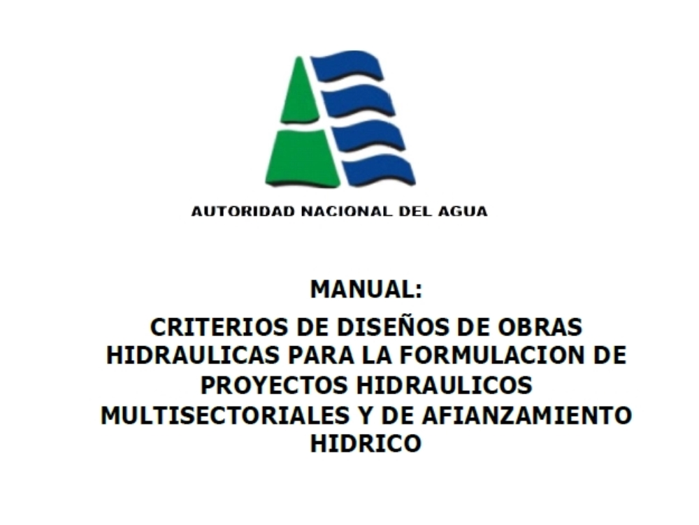 Manual de diseño para sifones y canales