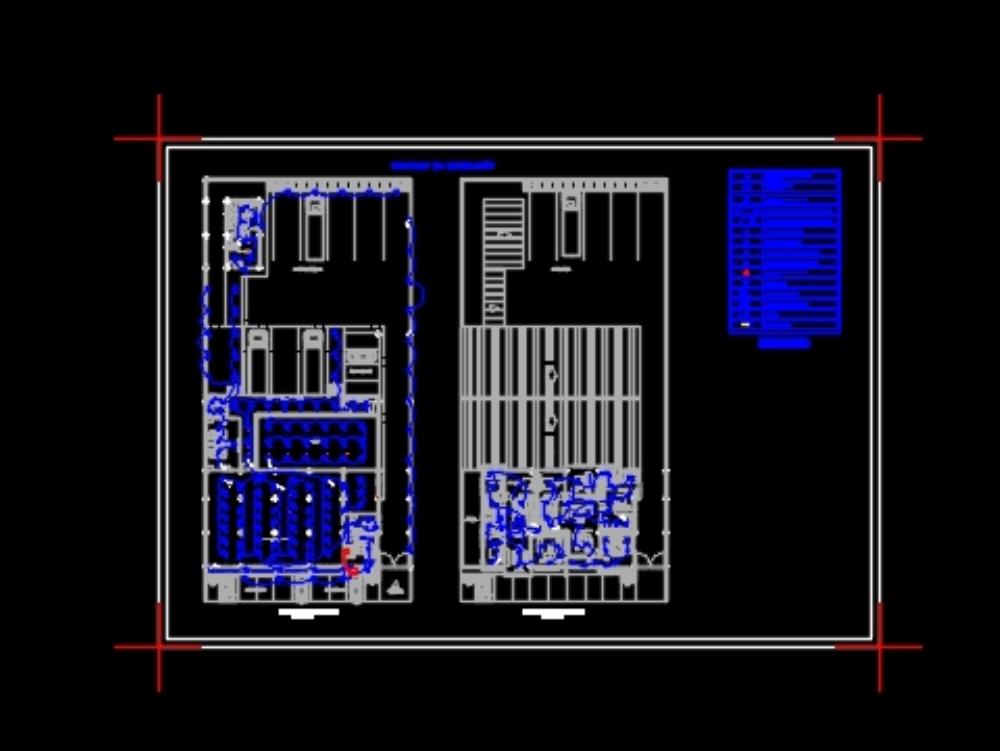 Cold room cellar lighting design