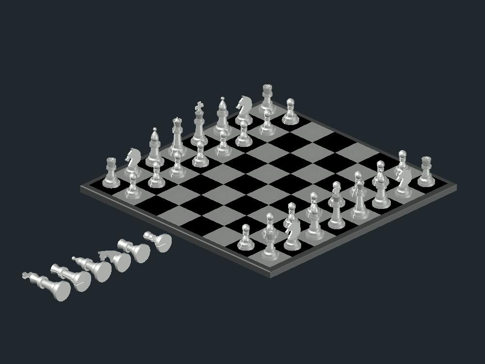Full 3d chess
