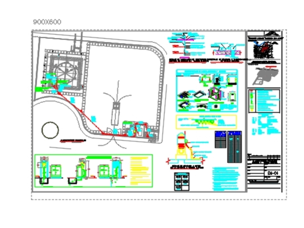 Proyecto cisterna y tanque elevado