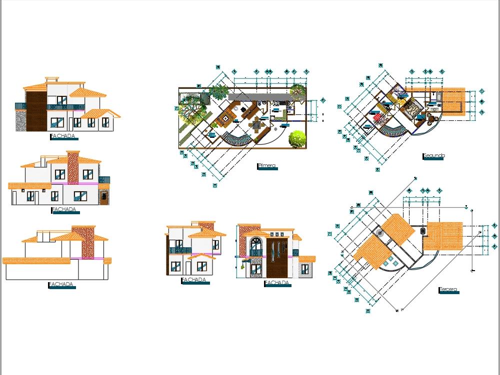 Casa residencial 73.43m2