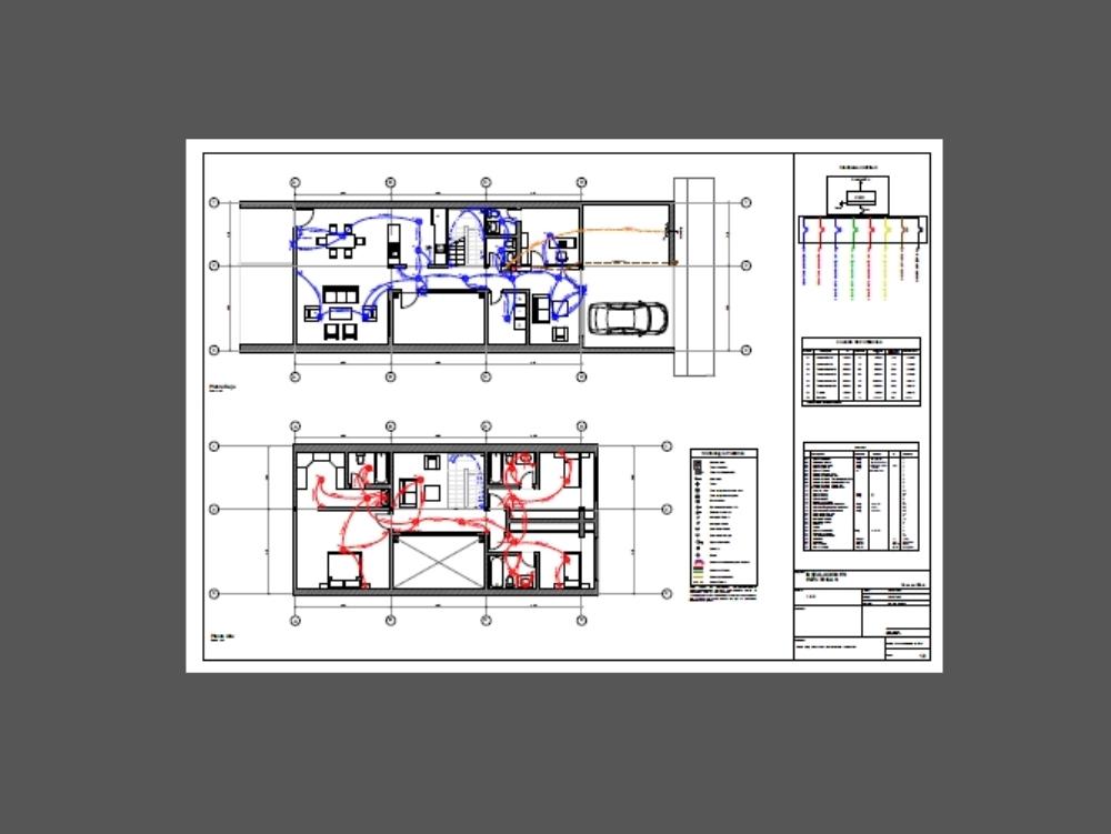 Intalaciones electricas  de vivienda