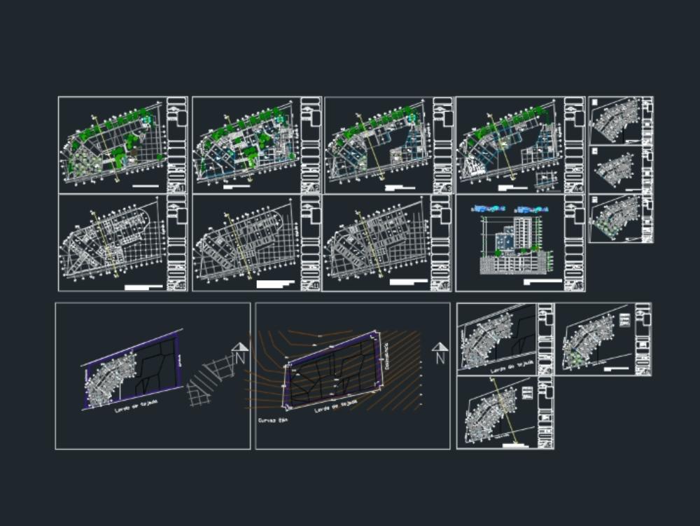Edificio de usos mixtos 10 niveles mas 4 de estacionamiento