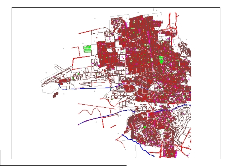Mapa ciudad de hermosillo