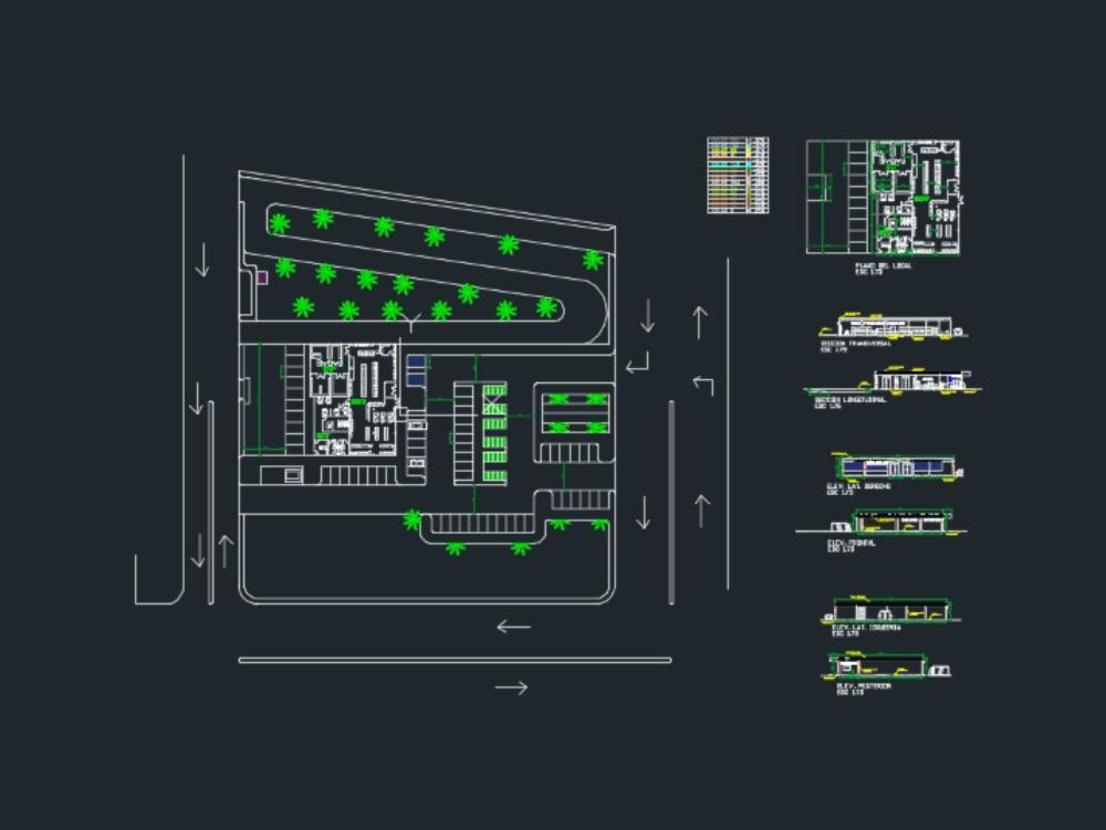 Diseño arquitectónico: mini market
