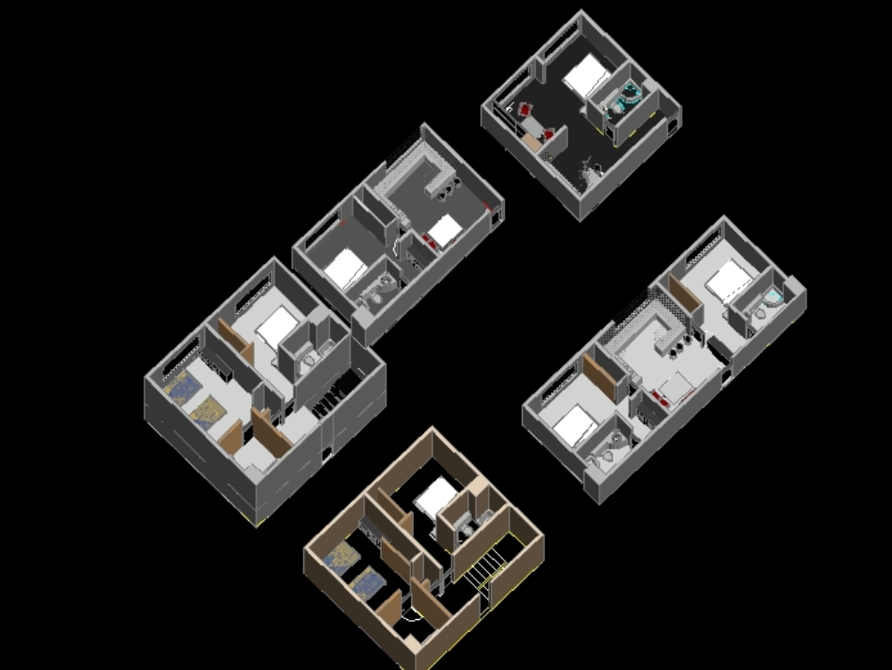 Isometry of housing apartments