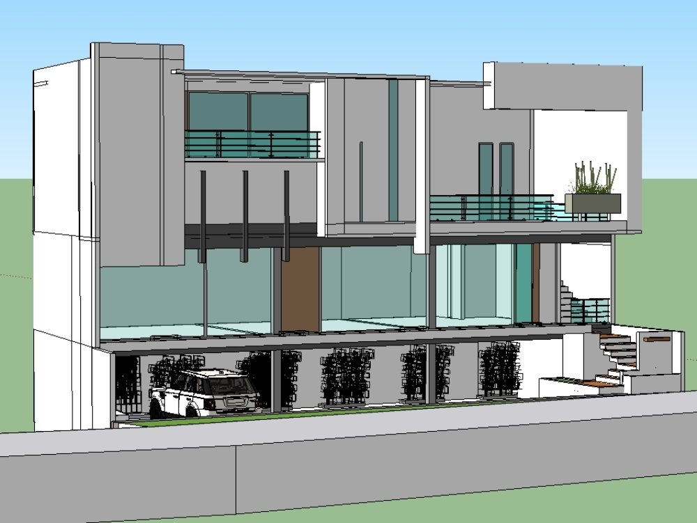Apartments and premises with underground parking