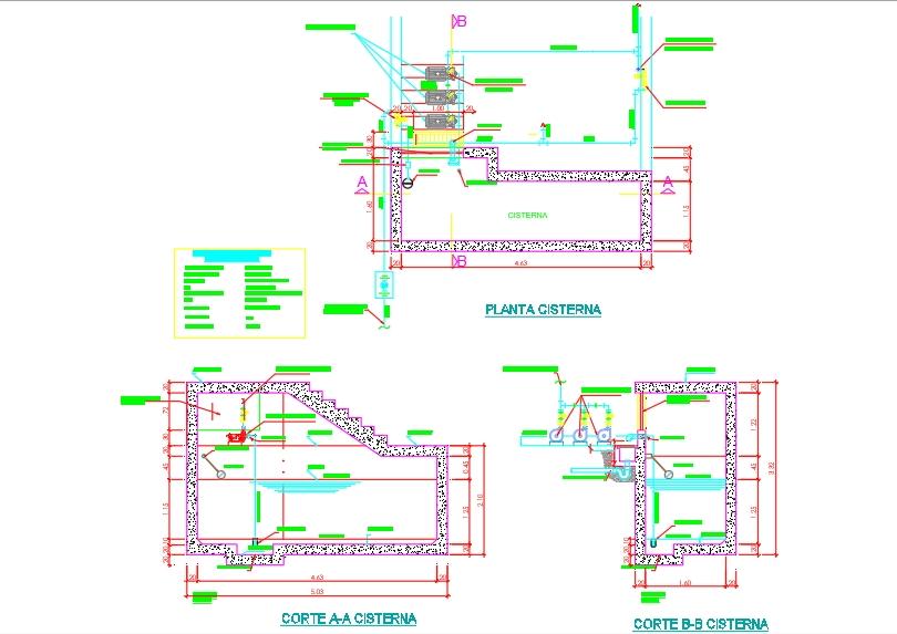 Detalle de cisterna