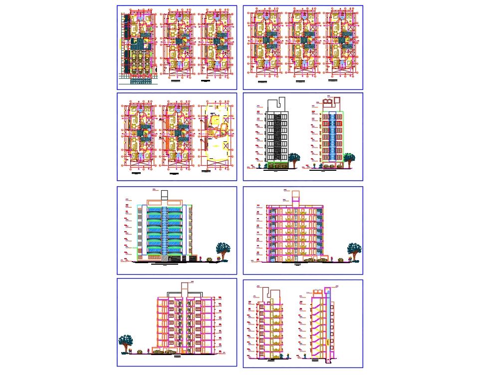 Multi-family 8-story buildings