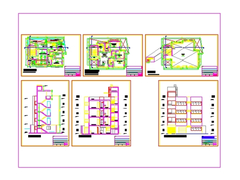 Edificio multifamiliae de 5 niveles