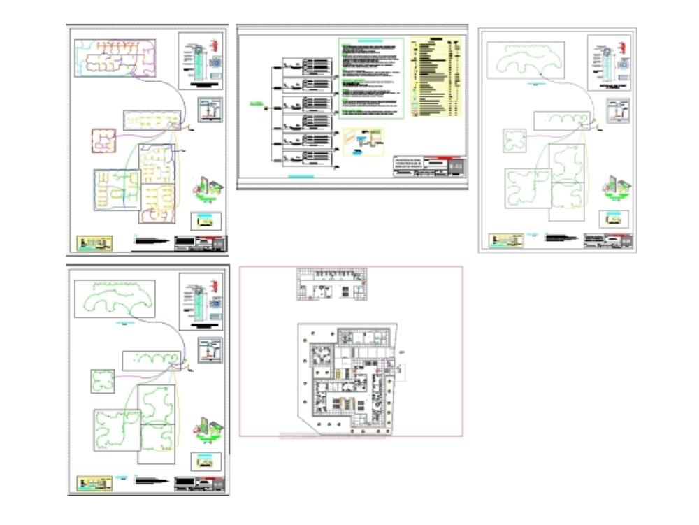 Proyecto de luminarias hospital en peru