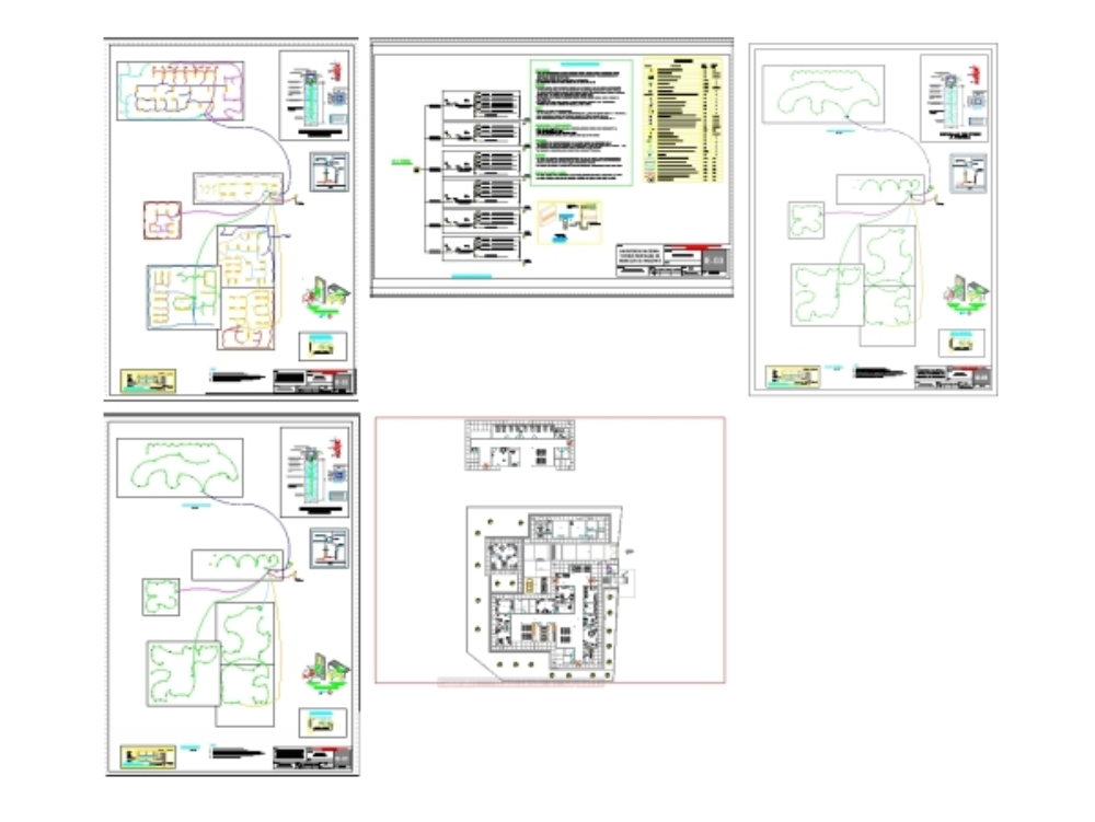 Hospital lighting project in peru