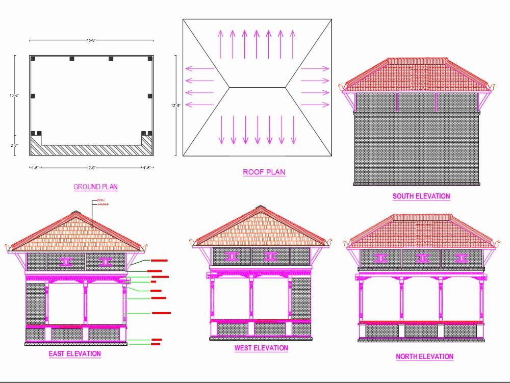 Patifalcha- casa de descanso tradicional