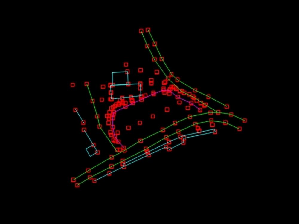 Topographic survey of the u park