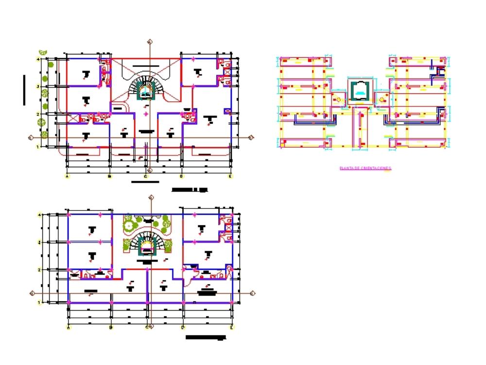 Estructuras del sistema de ascensor
